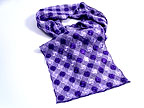Plauen Lace Scarf Purple